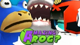 CAPTAIN AMERICA VS IRON MAN - Amazing Frog - Part 44