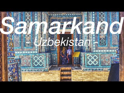 Uzbekistan: Magnificent Samarkand and I'm changing my route! | The Long Road Ep. 40