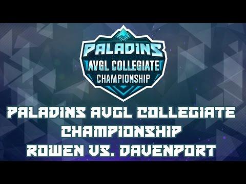 Paladins AVGL Collegiate Championship - Rowan University vs. Davenport University