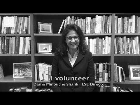 I volunteer - LSE Student Volunteering Week 2018
