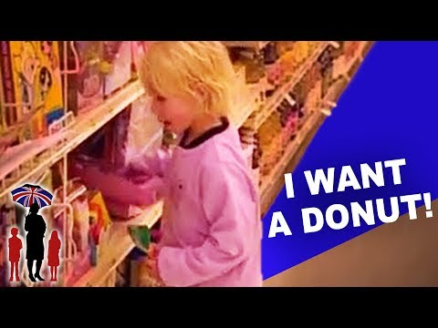How NOT to let your Children Behave in the Supermarket: Supernanny US