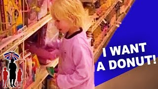 How NOT to let your Children Behave in the Supermarket | Supernanny USA
