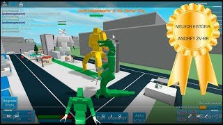 The GREATEST RAGE of the PUDDING-Roblox Godzilla Simulator