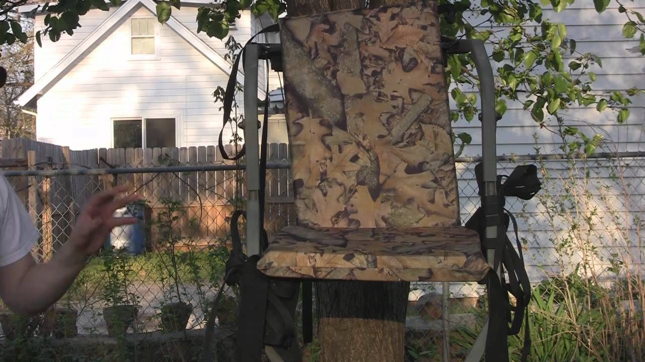 summit trophy chair review lowes rocking cushions product the slumper seat youtube