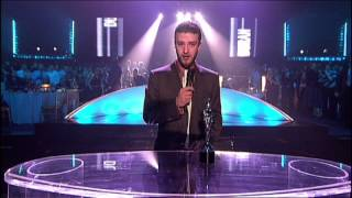 Duran Duran win Outstanding Contribution Award presented by Justin Timberlake | BRIT Awards 2004