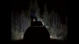 Нападение медведя на охотников. The attack of the bear on the hunters.