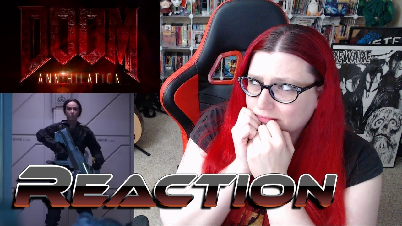 Doom Annihilation Doomguy Vs Doomchick Drama Trailer Reaction