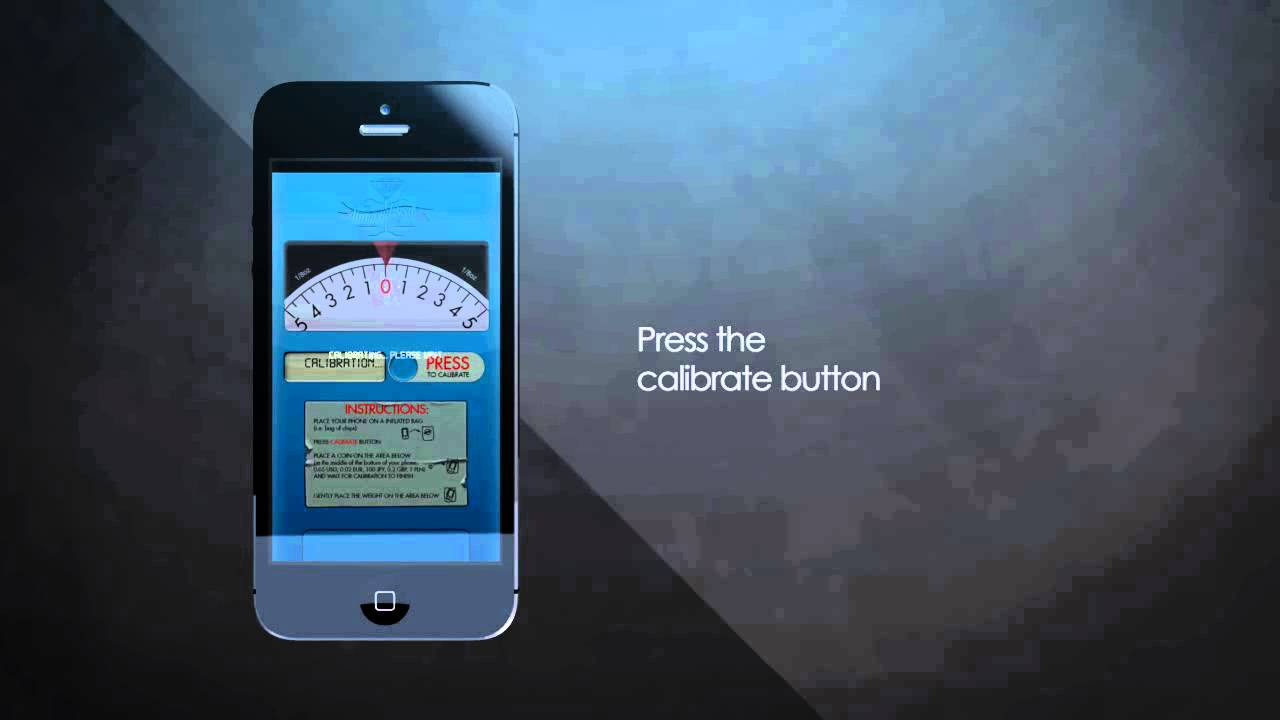 Digital Scale PRO app - your iPhone can weigh weed - iOS & Android app - YouTube