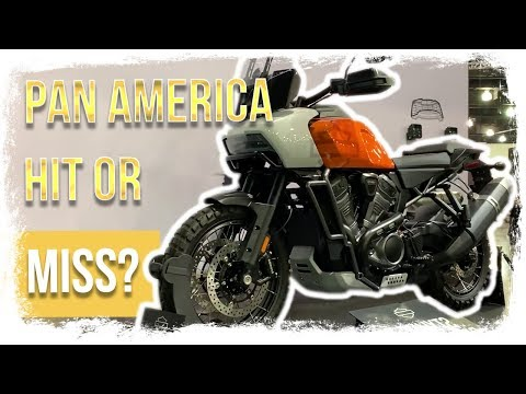 Harley Davidson PAN AMERICA Adventure Motorcycle SHOWN OFF