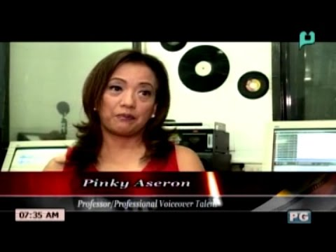 [GMB] REELTALK: Pinky Aseron, Professor/ Professional Voiceover Talent - [Dec. 01, 2015]