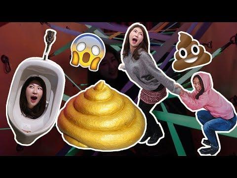 PooPoo Land - Poop Themed Amusement Park in Korea 놀이똥산 | 한국언니 Korean Unnie