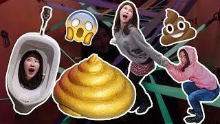 PooPoo Land Poop Themed Amusement Park in Korea 놀이똥산 한국언니 Korean Unnie