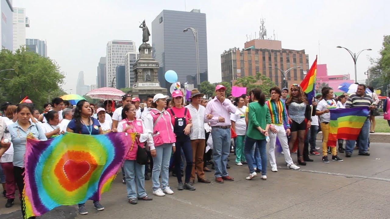 Marcha Del Orgullo Gay De La Ciudad De Mexico Youtube