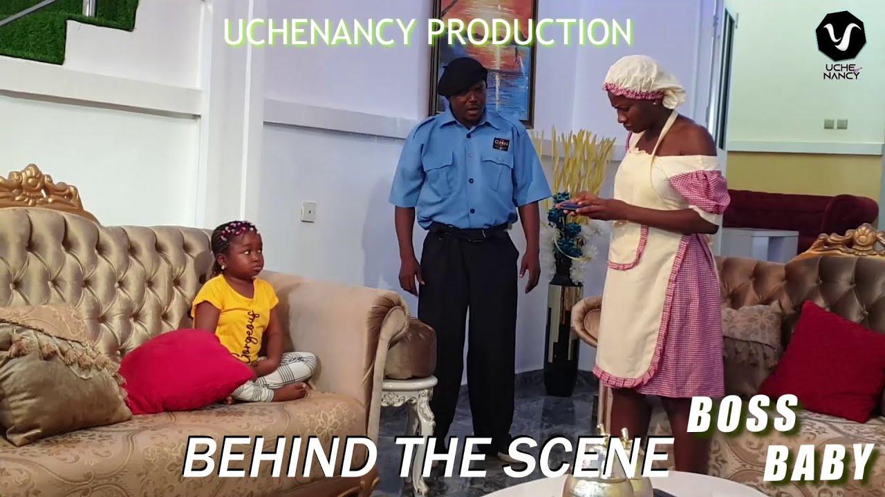 BOSS BABY (BTS) Sonia Uche/Toosweet Annan/Ebube Obio 2021 Trending Nigerian Nollywood Movie