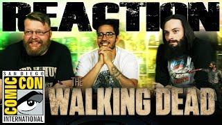 The Walking Dead Season 8 Official Comic-Con Trailer REACTION!! SDCC 2017