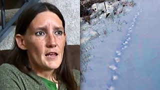 Her Dog Vanished After Car Crash. 96-Days Later She Follows The Paw Prints In Snow