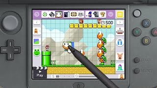 Game | Mario Maker 3DS Trailer | Mario Maker 3DS Trailer