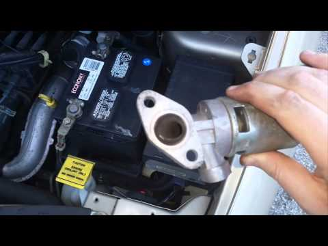Cleaning and or replacing the EGR Valve on your Chrysler