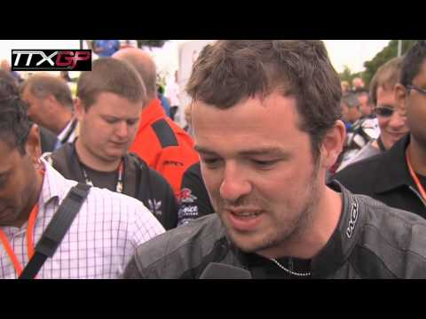 Isle of Man TT TTXGP - Rob Barber First Qualification Interview