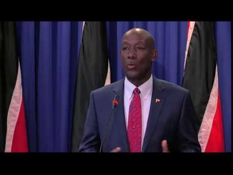 Prime Minister Rowley at Post Cabinet Media Briefing (Thursday 3rd November 2016)
