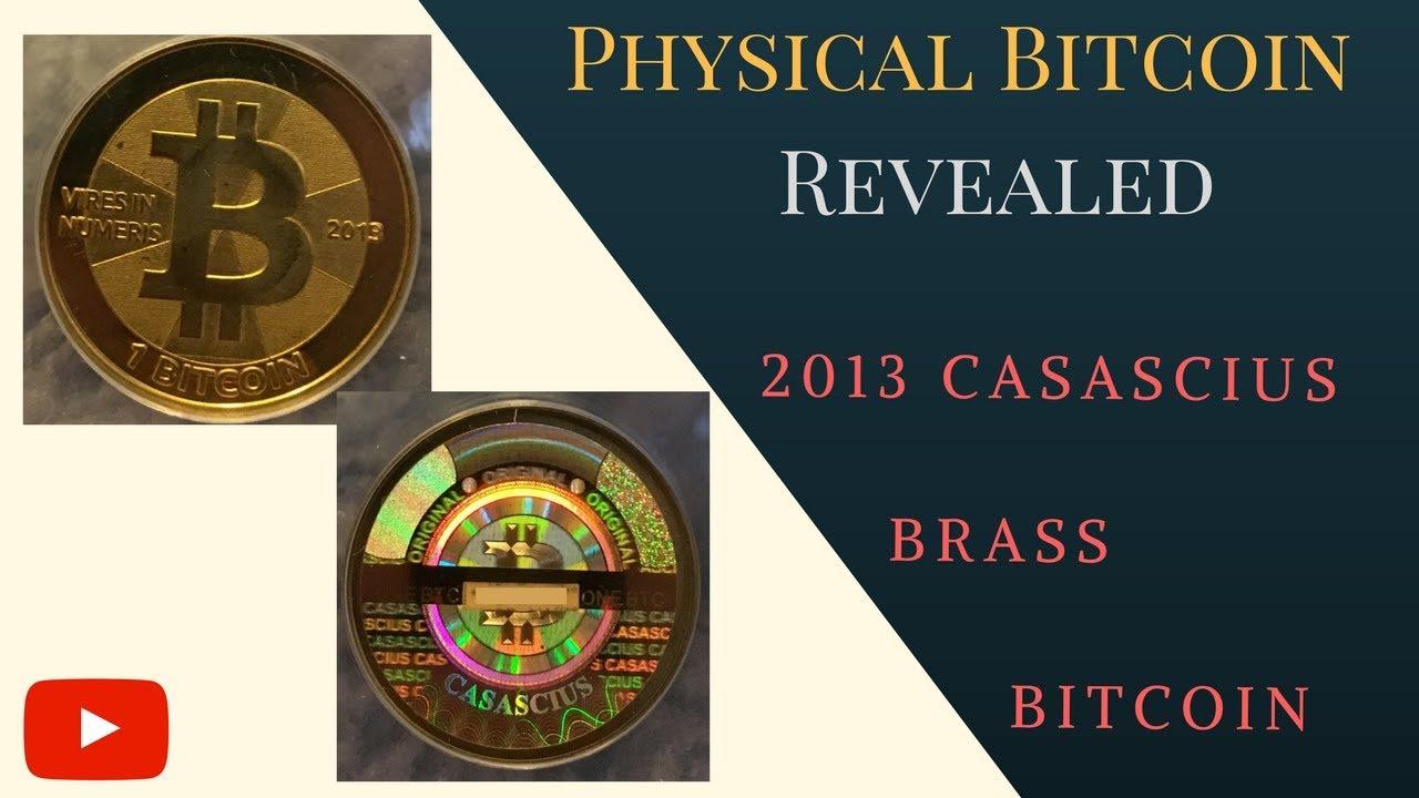 2013 Casascius Bitcoin