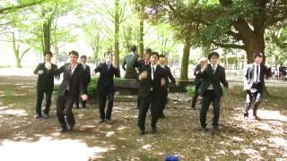 社会人踊ってみた集団「リーマンブラザーズ」です。