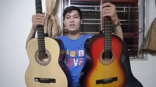 Đàn guitar giá rẻ 400k và 500k