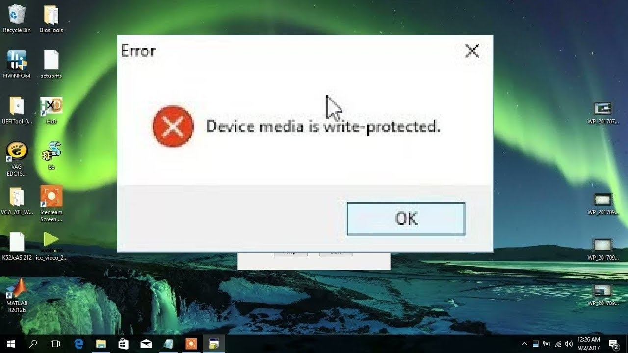 How to Remove Write Protection for HP Disk Storage Format Tool