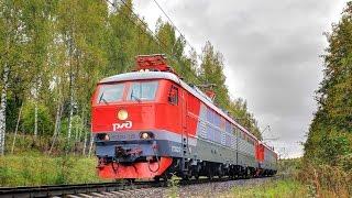 Электровозы ЧС200-010 011 Транспортировка с завода