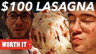 $3 Lasagna Vs. $100 Lasagna
