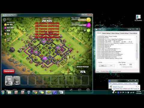 clash of clans bot + free download!!