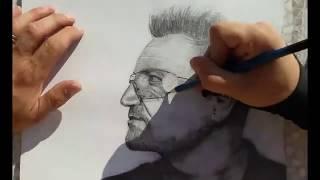 BONO U2 speed drawing