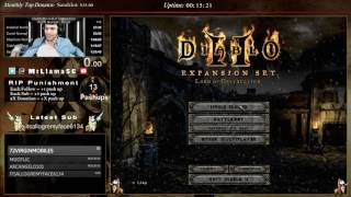Diablo 2 - Druid/Assassin Speedrun Attempts (01/11/2017)