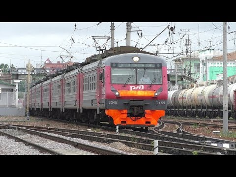 Электропоезд ЭД4М-0459 станция Голицыно