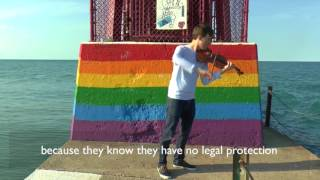After coming out as gay, this Russian violinist can't return home.