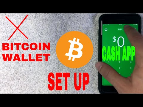 ✅  How To Set Up Cash App Bitcoin Wallet Tutorial 🔴