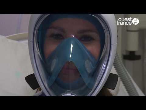 Cet hôpital transforme des masques de plongée en respirateurs