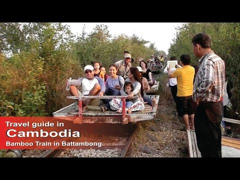 Primitive -Bamboo Train- Travel guide in Cambodia | How to travel in Cambodia.