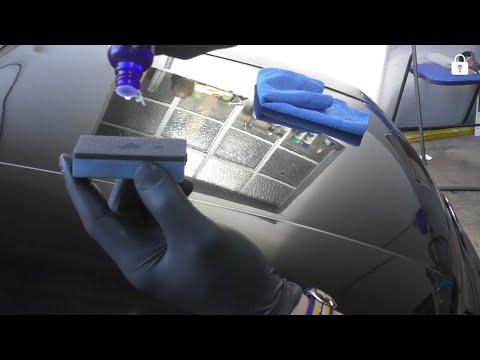 Как обработать автомобиль жидким стеклом