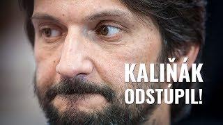 Robert Kaliňák ODSTÚPIL!