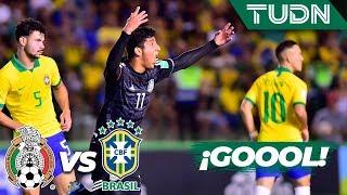 ¡Golazo de González pone a México a soñar! | México 1 - 0 Brasil | Mundial Brasil Sub17 Final | TUDN