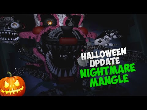 СКРИМЕР КОШМАРНОЙ МАНГЛ! - Nightmare Mangle Jumpscare - FNAF 4 (Halloween Edition)