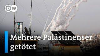 Luftangriff auf Gaza nach Raketenangriff auf Israel   DW Nachrichten