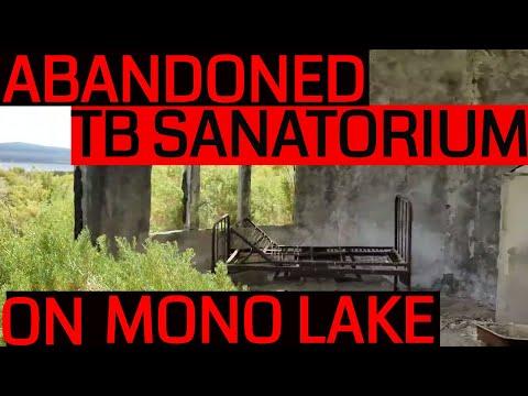 Abandoned Tuberculosis Sanatorium on Paoha Island, Mono Lake