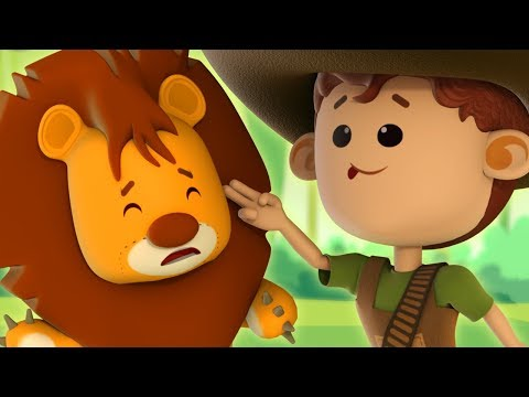 We're Going on a Lion Hunt Song | Nursery Rhyme | Kids Songs For Babies | Children Song