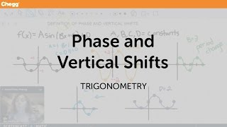 Phase And Vertical Shift | Trigonometry | Chegg Tutors