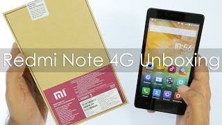 Xiaomi Redmi Note 4G Budget Phablet Unboxing & Overview