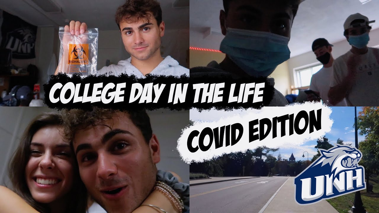 day in the life of a college freshman (covid edition)