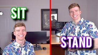 Electric Sit Stand Desks: The FUTURE? [Flexispot E5 Review]