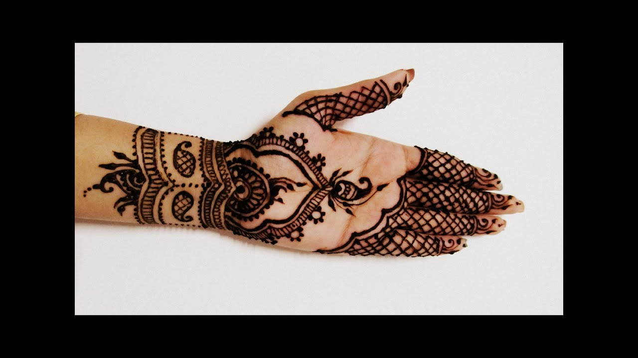 Beautiful Simple Mehendi Mehndi Design On Front Of HandDiwali Dipavali  Yo